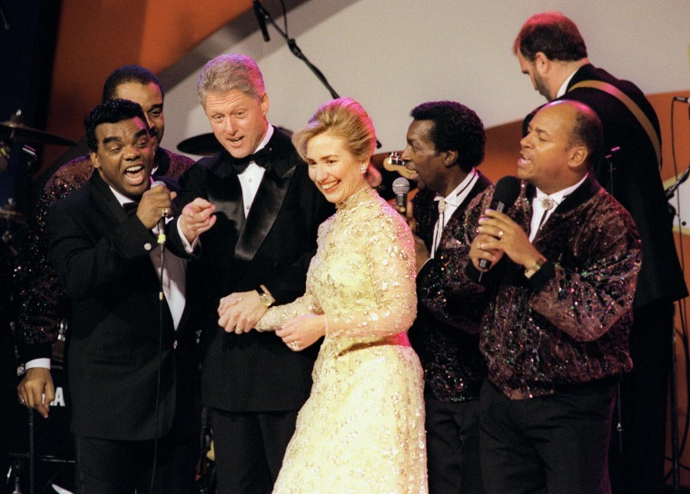 Image: President Bill Clinton and First Lady Hillary Rodham Clinton