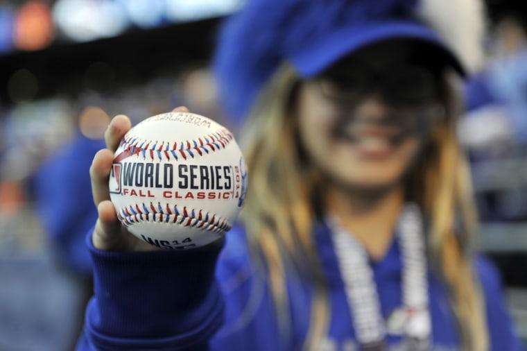 Image:World Series-San Francisco Giants at Kansas City Royals