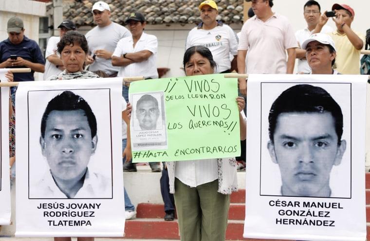 Image: MEXICO-CRIME-STUDENTS-DEMO