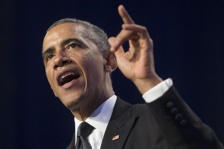 Image: President Obama Addressees The Congressional Hispanic Caucus Awards Gala