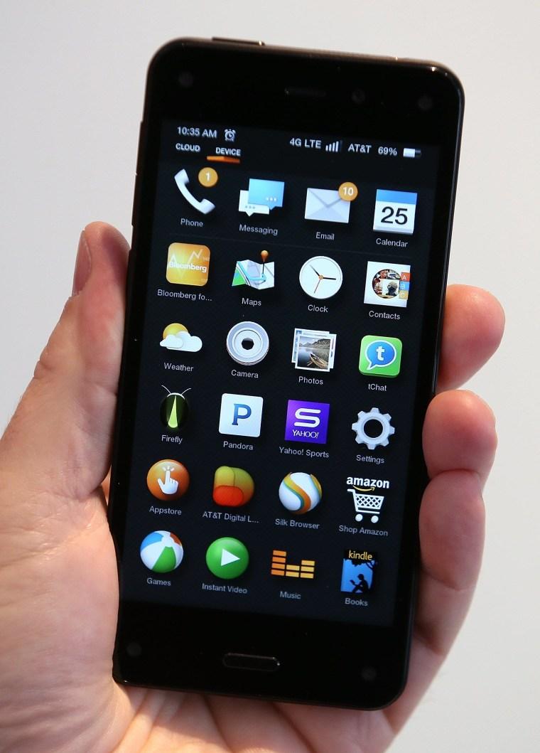 Image: Amazon Fire phone