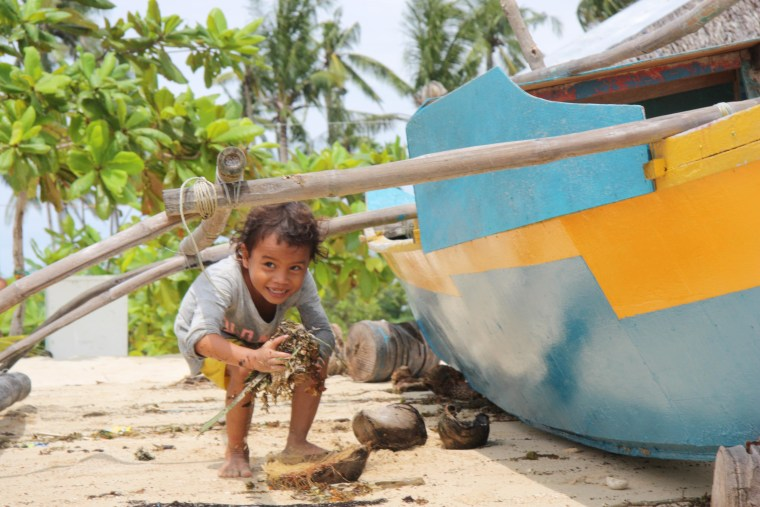 Fisherman still recovering one year after Typhoon Haiyan.