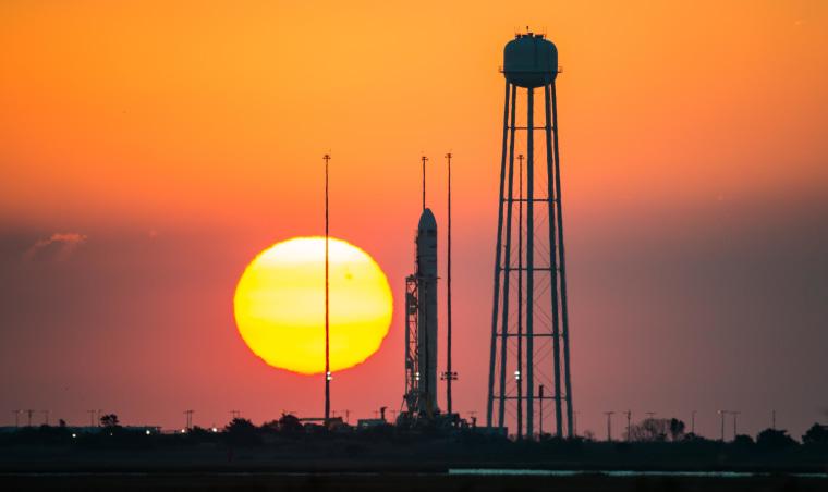 Image: Antares at Sunrise