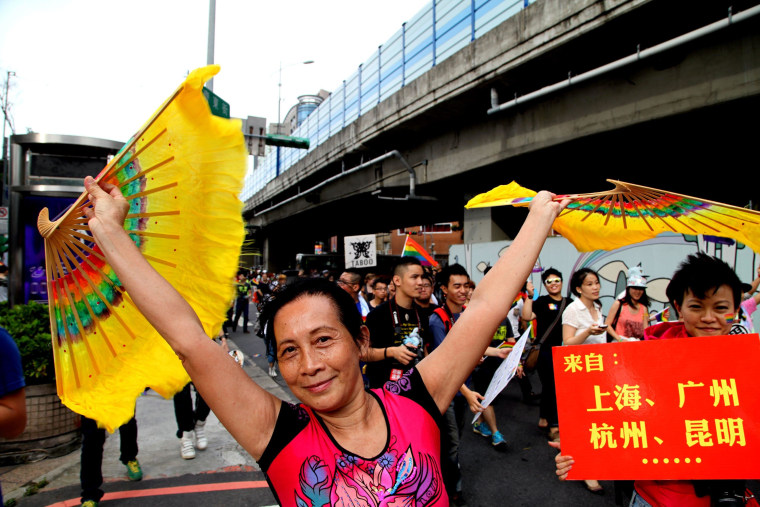 Image: 12th annual Taipei Gay Pride march