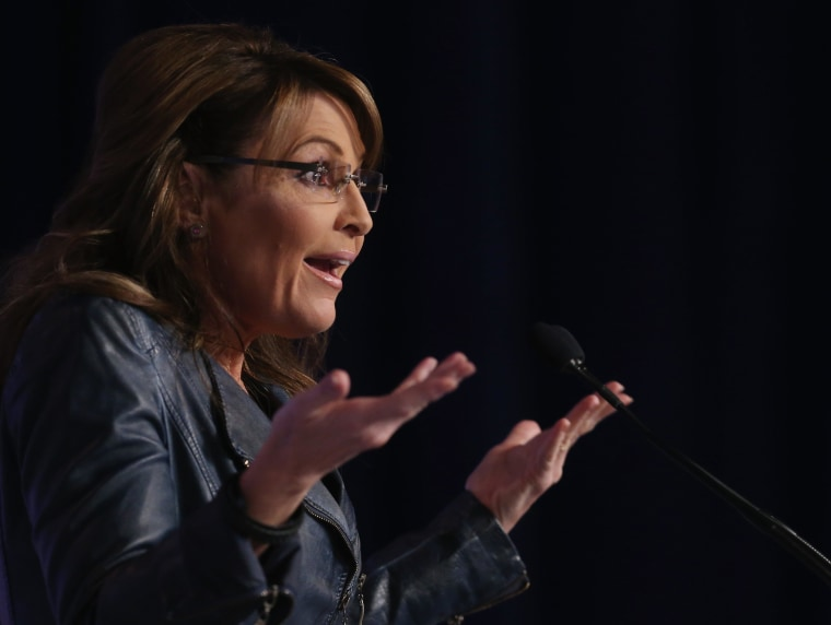 Image: Former Alaska Gov. Sarah Palin