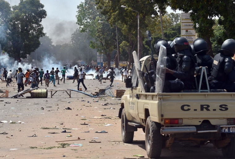 Image:Unrest in Burkina Faso
