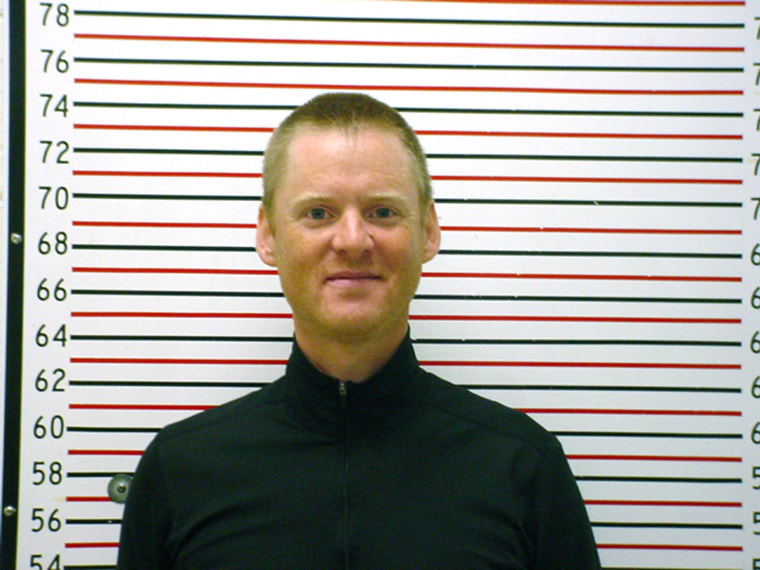 Dell Schanze of Salt Lake City, in a booking photo released in 2011.