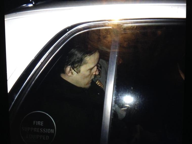 Image: Eric Frein in custody