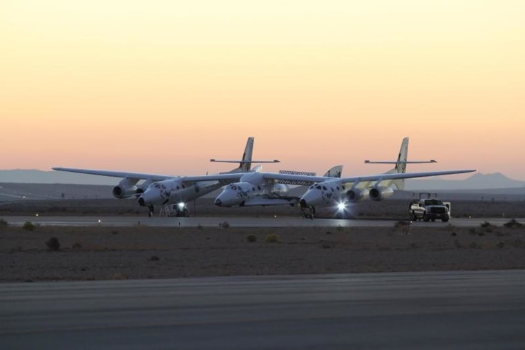 Image: SpaceShipTwo and WhiteKnightTwo