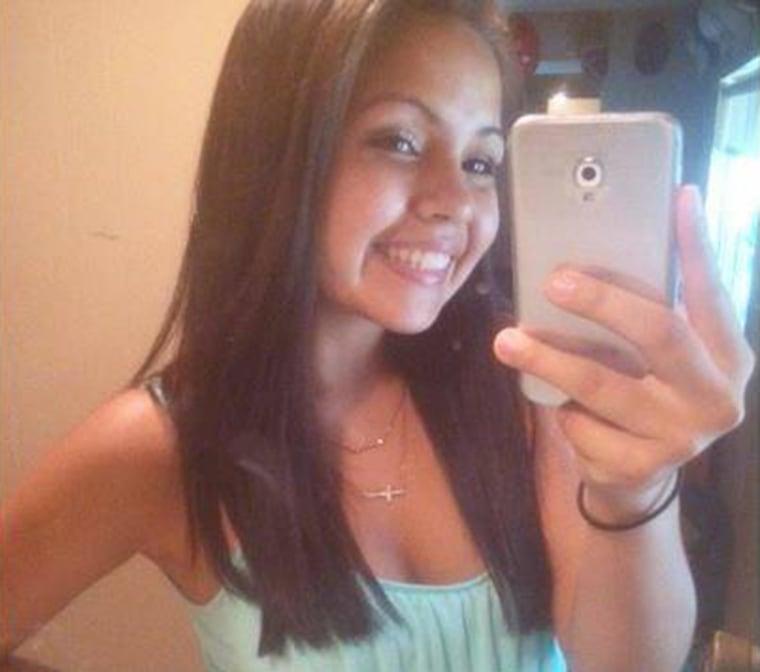 Shaylee Chuckulnaskit, a victim in the shooting at Marysville Pilchuck High School in Marysviille, Wash., on Oct. 24, 2014.
