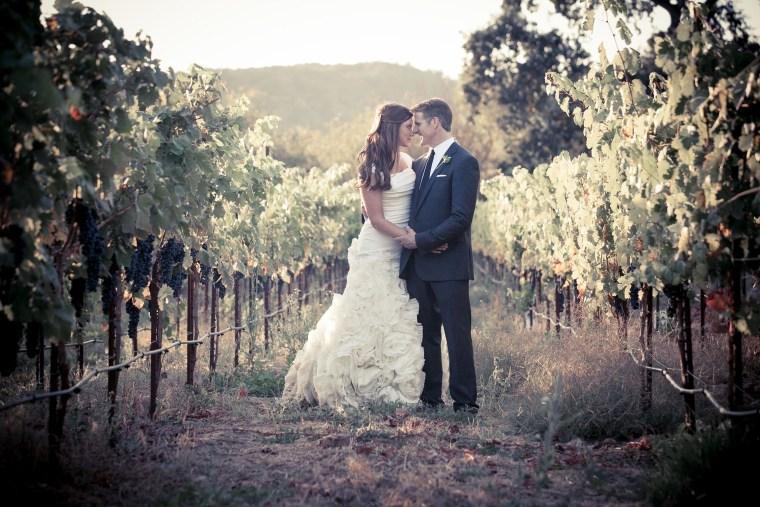 Image: Brittany Maynard and husband Dan Diaz at their September 2013 wedding
