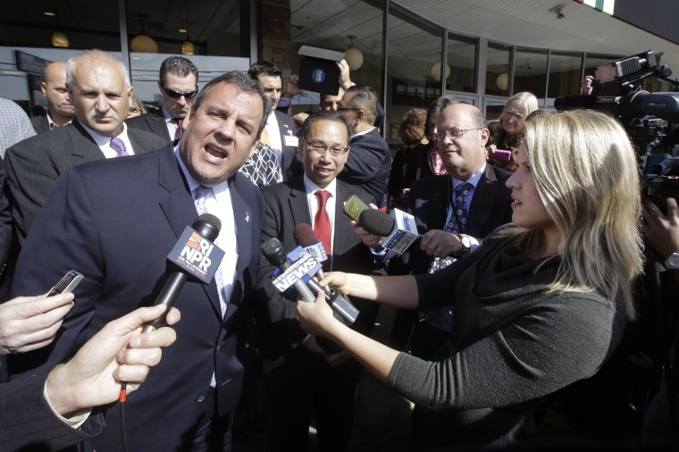 Image: Chris Christie, Allan Fung