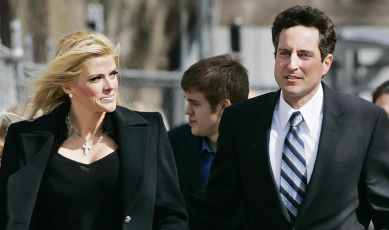 Image: Anna Nicole Smith and her lawyer, Howard K. Stern