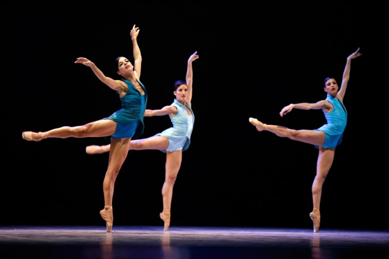 Cuba's National Ballet performing scenes from CELESTE.
