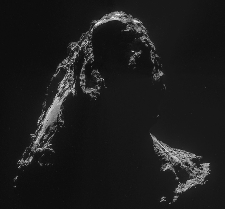 Image: Shadowy comet