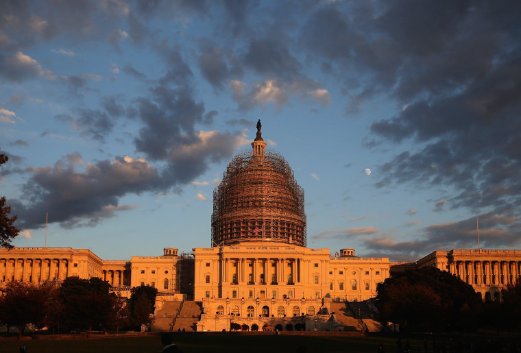 Image: Control Of Senate Hangs In Balance On Eve Of Country's Midterm Election