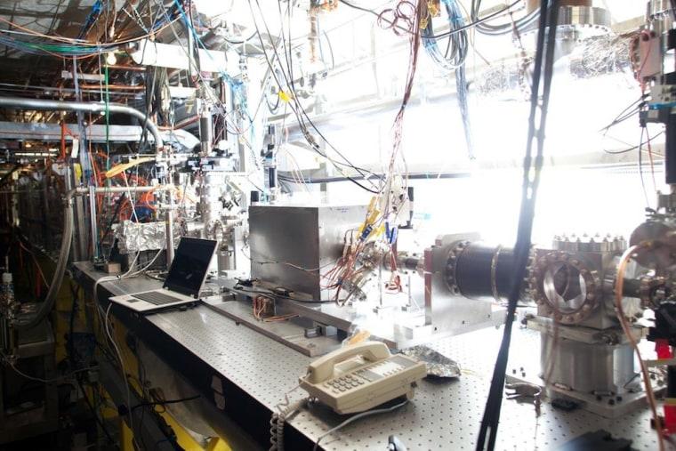Image: Plasma accelerator