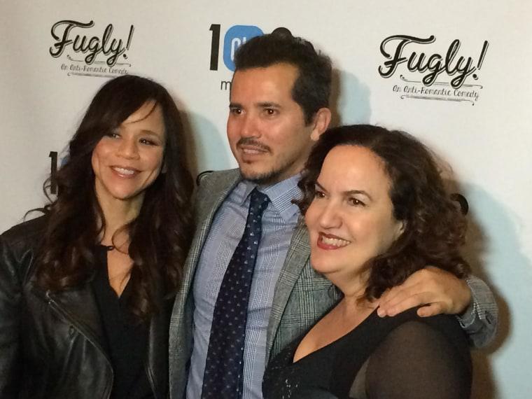 Image: Rosie Perez, John Leguizamo and Olga Merediz at Fugly! Premiere