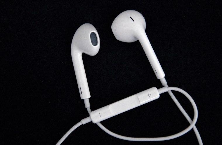 The Apple EarPods