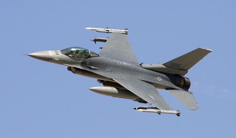 Image: An F-16