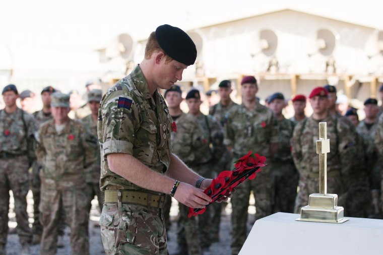 Prince Harry Visits Troops in Afghanistan to Honor Fallen
