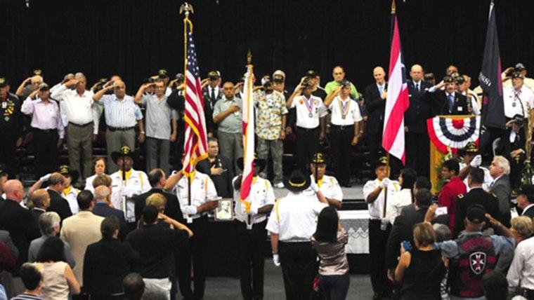 Image: Borinqueneers Honor Ceremony