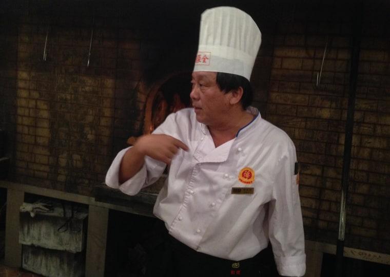 Chef Yu Fenggang
