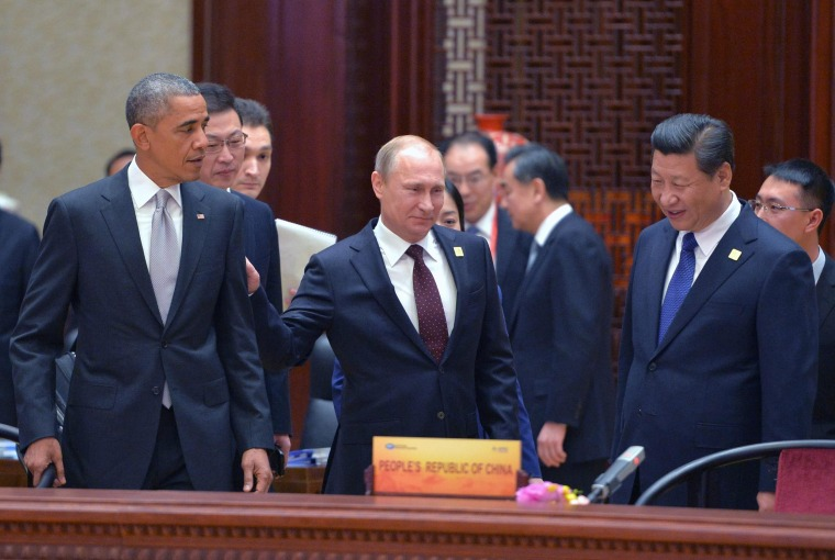 Image: 2014 APEC Summit in Beijing, China