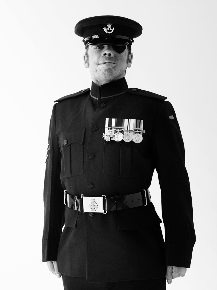 Corporal Ricky Fergusson MC, June 2012.