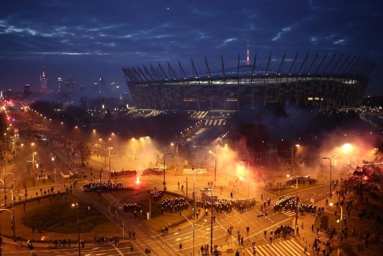 Image: National Stadium in Warsaw