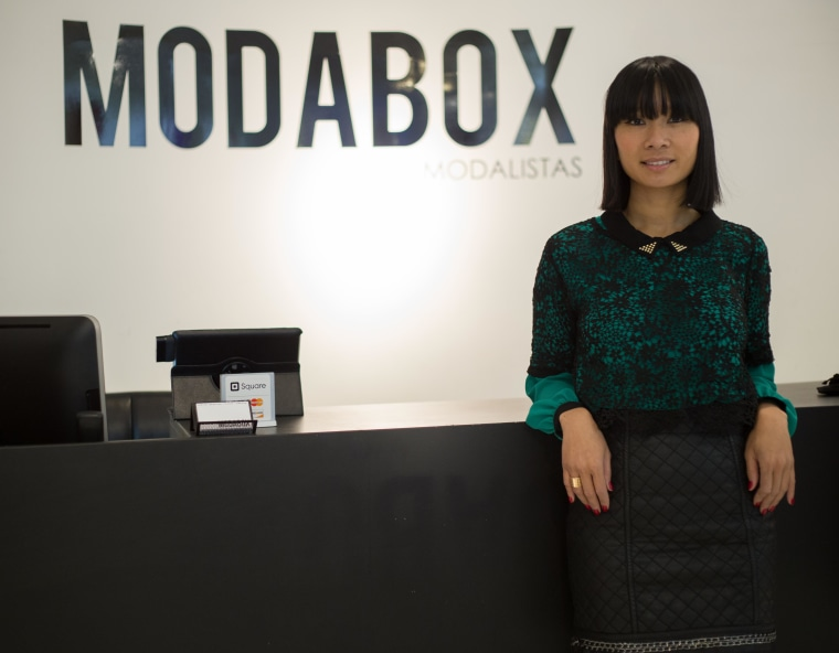 Monica Phromsavanh opened her second business, ModaBox, in April 2014 in Philadelphia's South Street Seaport.