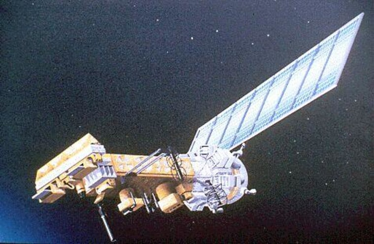 IMAGE: NOAA satellite