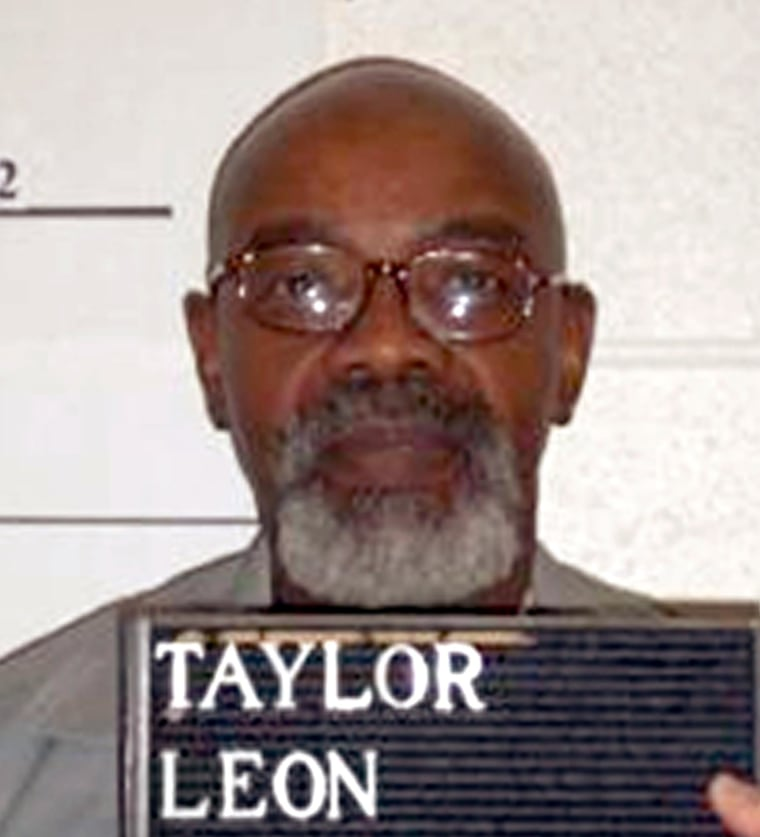 Image: Convicted killer Leon Taylor
