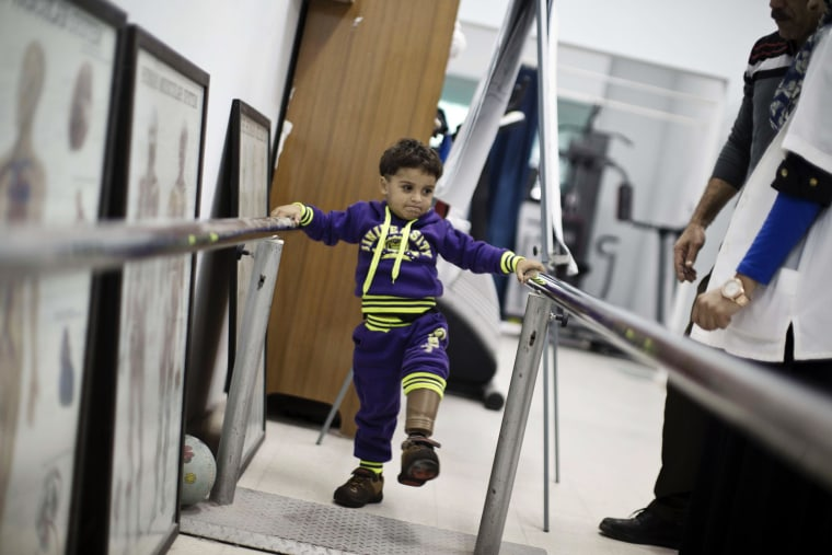 Image: PALESTINIAN-CONFLICT-GAZA-HEALTH