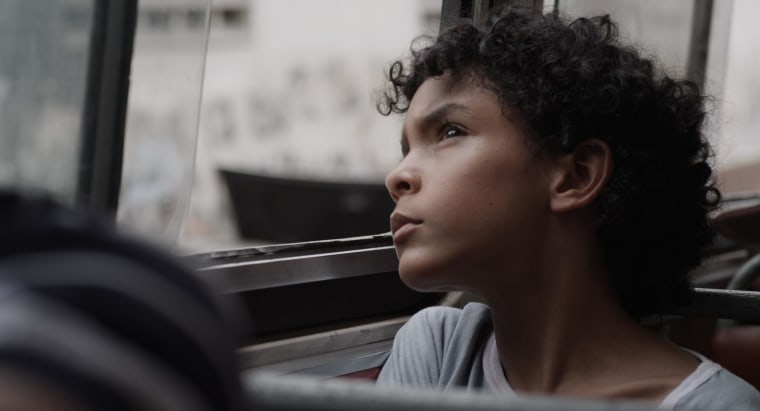Samuel Lange as Junior in Mariana Rondón's BAD HAIR.