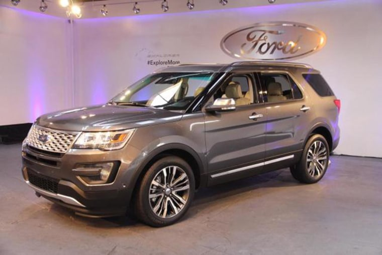 Image: A Ford Explorer