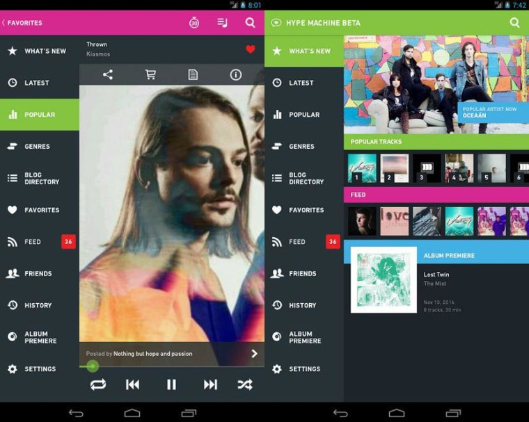 Hype Machine Android