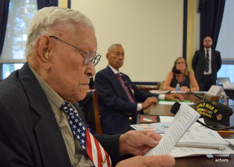 Celestino Almeda at Congressional hearings, June 2014