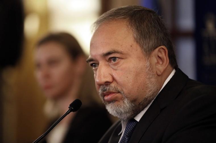 Image: Israeli Foreign Minister Avigdor Lieberman