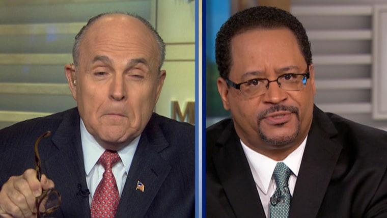 Rudy Giuliani and Michael Eric Dyson on Meet the Press