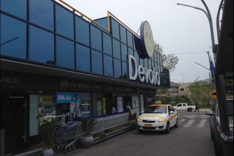 The Devoto supermarket in Montevideo, Uruguay, where GlobalPost correspondent Will Carless was asked about - and thanked for - President Obama's immigration executive action.