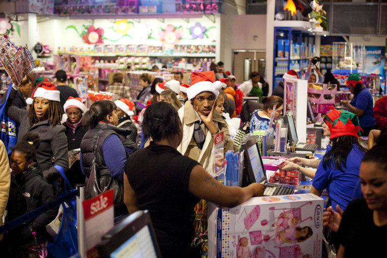 "Image: ""Black Friday"" Marks Start Of Holiday Shopping Season"