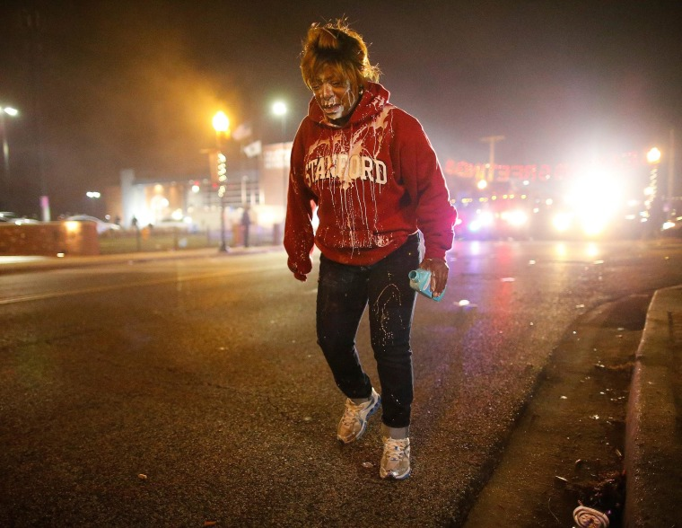 Image: Ferguson Grand Jury decision in Michael Brown shooting