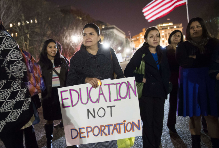 Image: US-POLITICS-IMMIGRATION-PROTEST