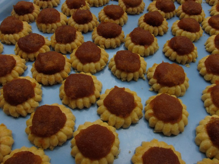 The pineapple tarts of Cheryl Lu-Lien Tan are from her grandmother's recipe.