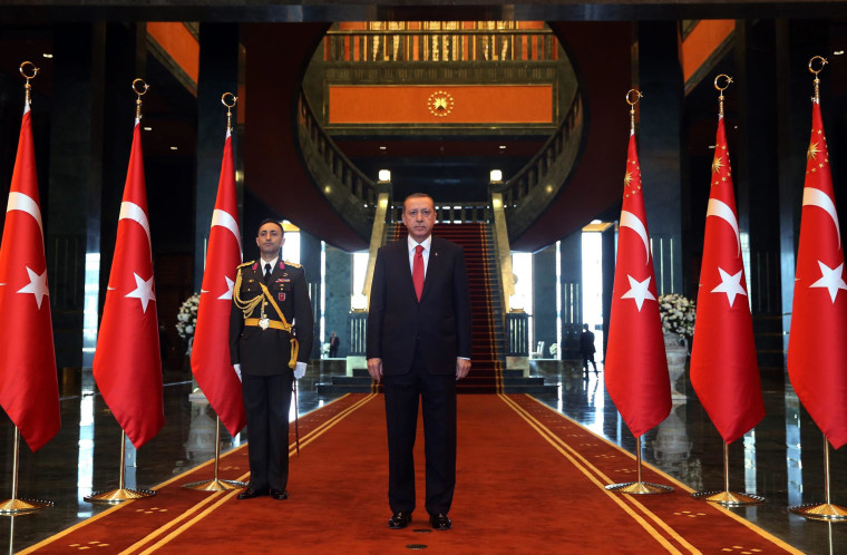 Image: Turkish President Recep Tayyip Erdoga