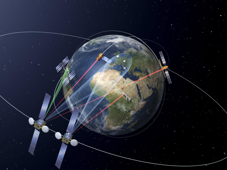Europe's Laser-Powered Space Data Highway Passes Early Test
