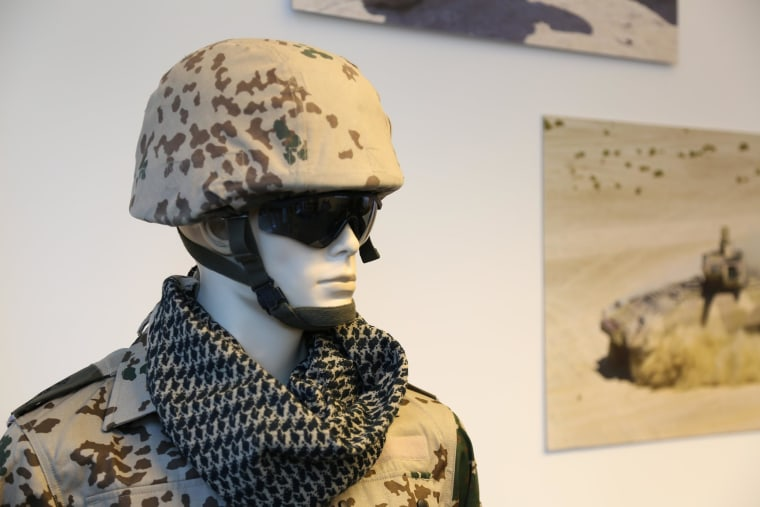 Image: Mannequin at Germany military showroom