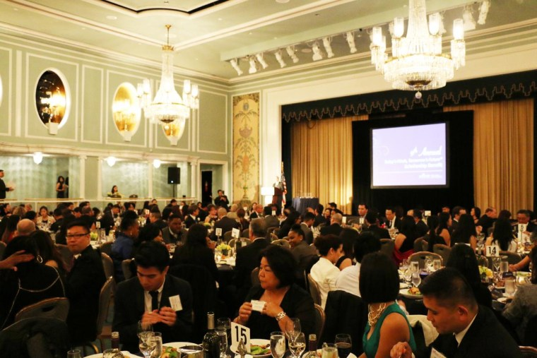 """APIASF hosted its """"Today's Minds, Tomorrow's Future"""" Scholarship Benefit at the Hilton in New York City on Wednesday, November 12, 2014."""