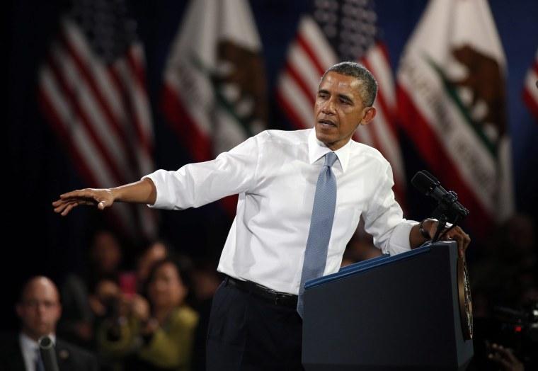 Image: Obama speaks on Immigration Reform